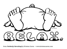 relax cartoon
