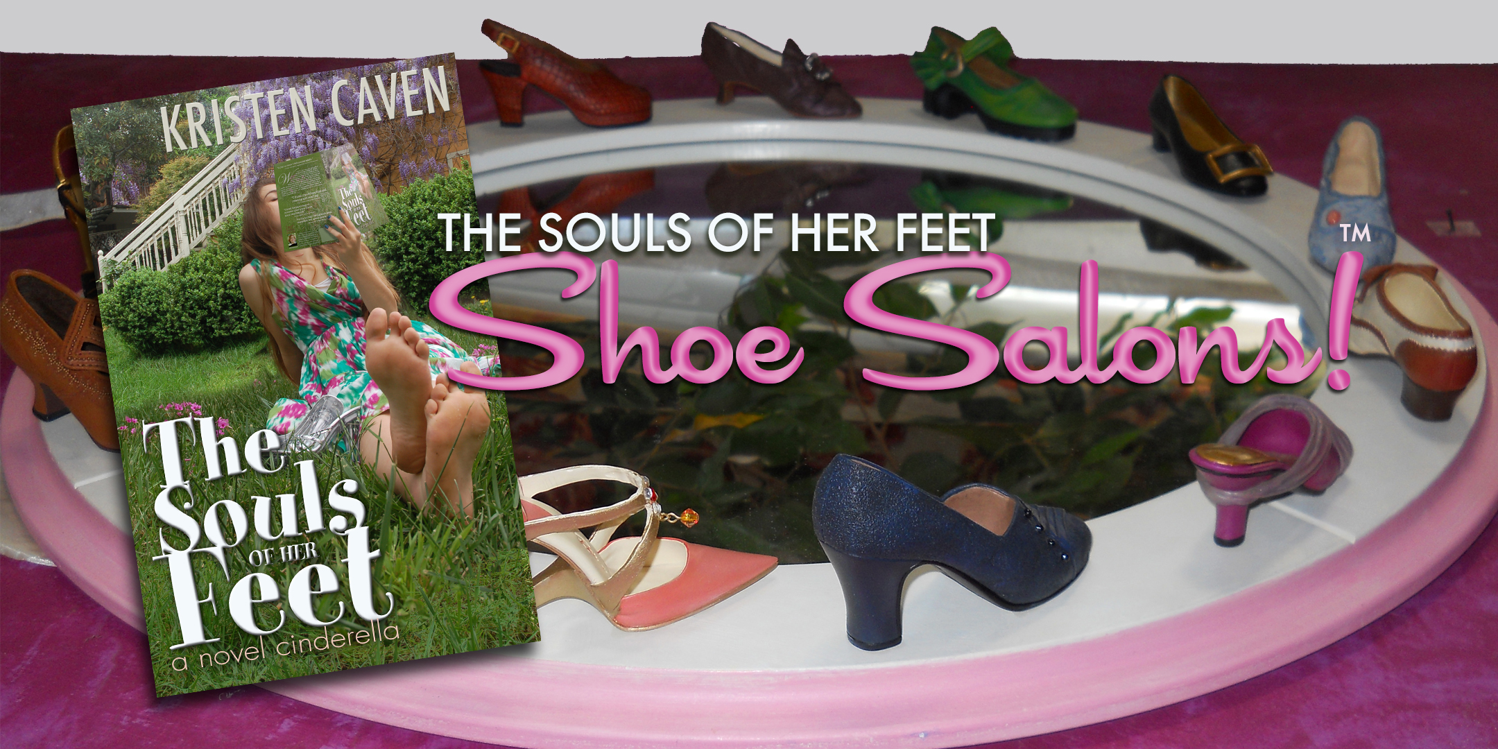shoe salon banner