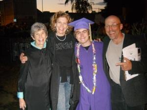 We are all graduates!