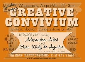 What's a CreativeConvivium?